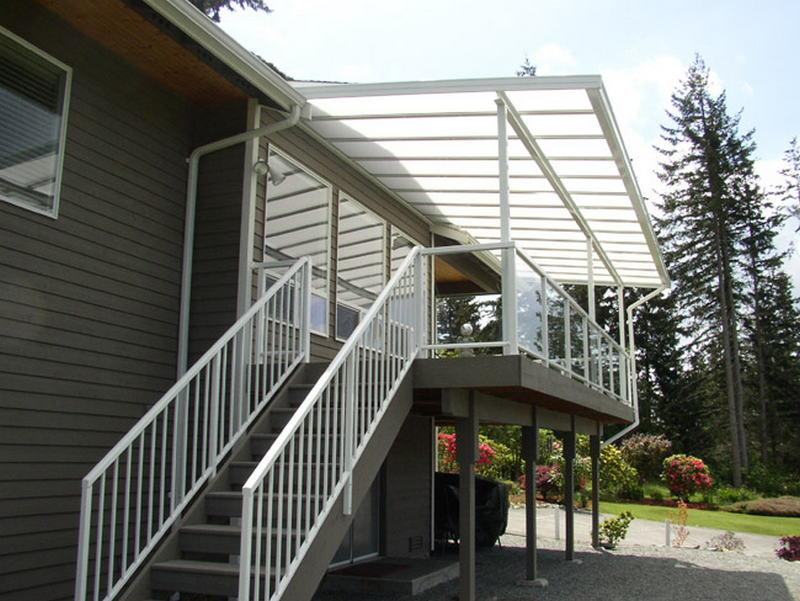 Patio Covers Integrated Railings