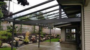 Black Beam Glass Patio Cover-05