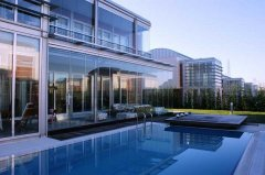 Retractable Glass Walls - For Residential Homes