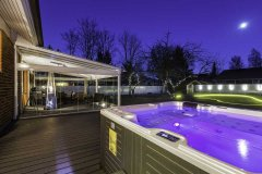 Use Your Patio Area Year Round with Frameless - Retractable Glass Walls