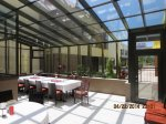Commercial Straight Eave Sunroom