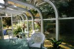 Curve Eave Sunroom