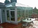 Gable Roof Sunroom