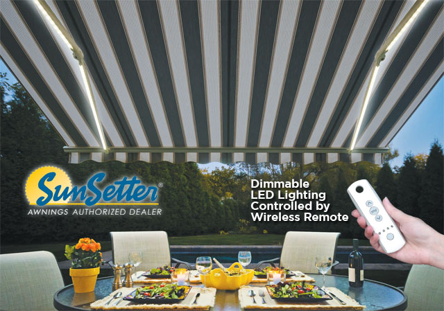 Sunsetter Awnings Dimmable Led Lighting